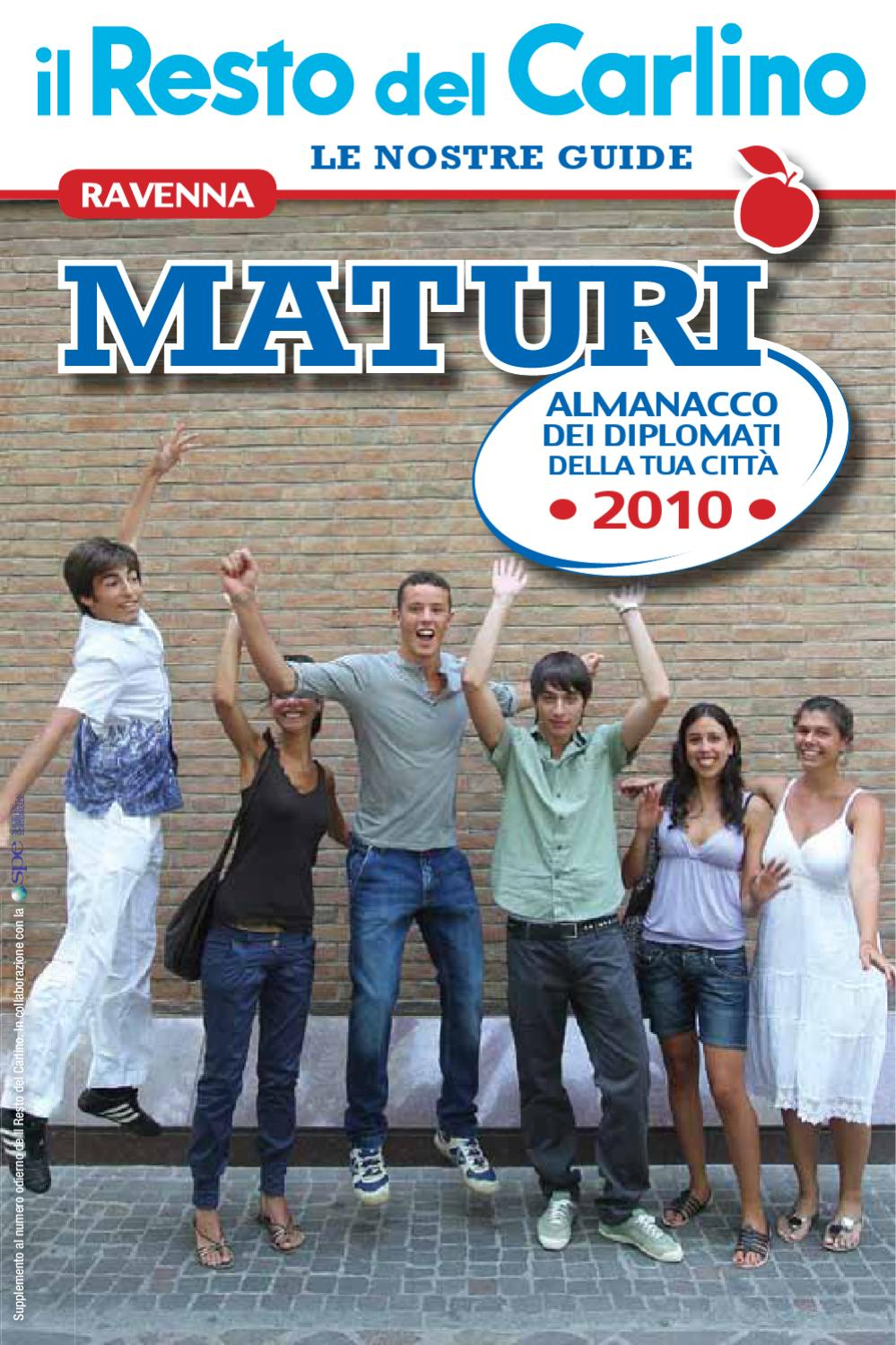 ravenna maturi 2010 by monrif net issuu