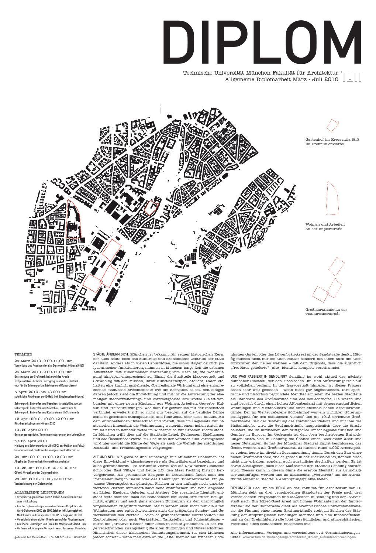 Diplomzeitung 2010 2 tum architektur by martin luce issuu for Masterarbeit architektur