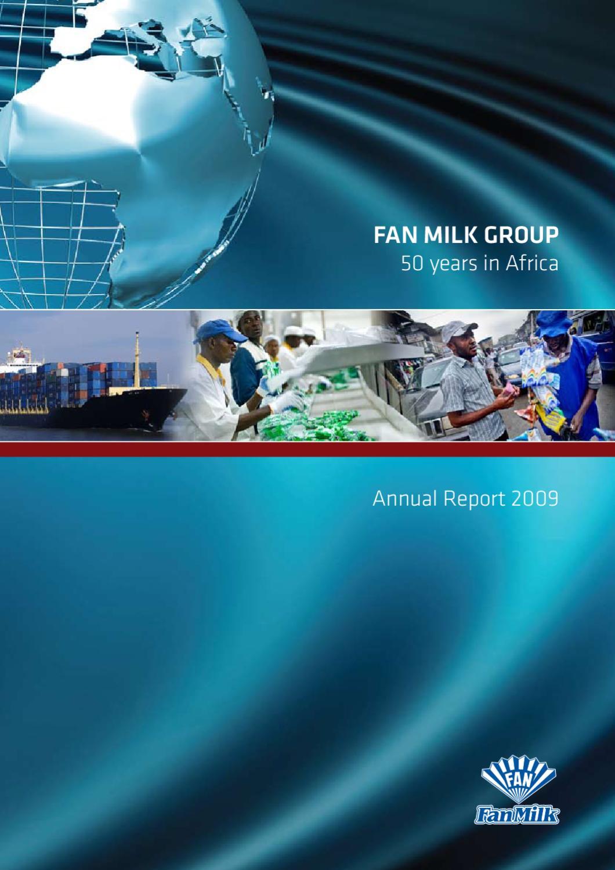 Fan Milk Group Annual Report 2009 by Emidan A/S - issuu