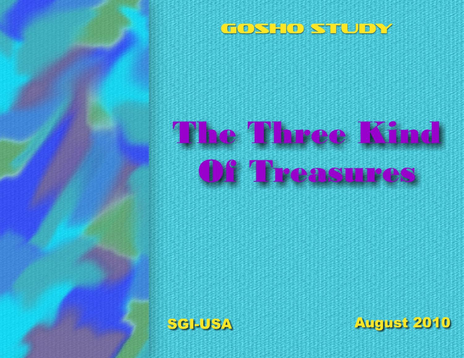 values of the ra ana essay by phillip hedayatnia issuu the three kinds of treasures