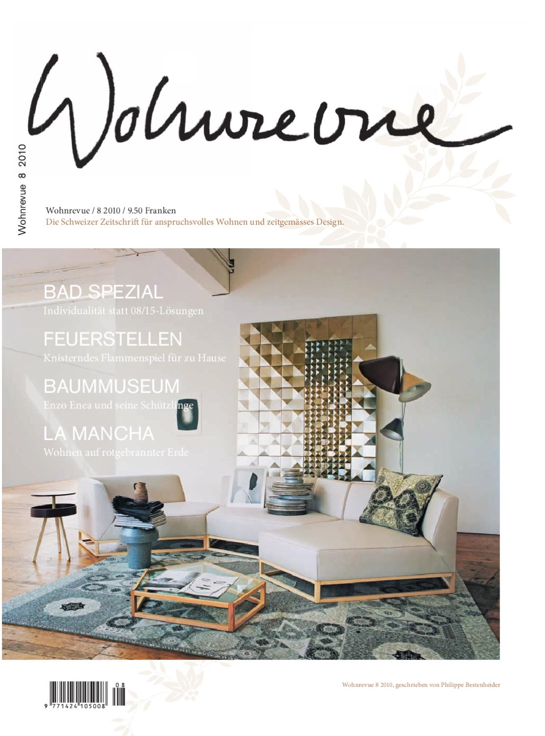 wohnrevue 08 2010 by boll verlag issuu. Black Bedroom Furniture Sets. Home Design Ideas