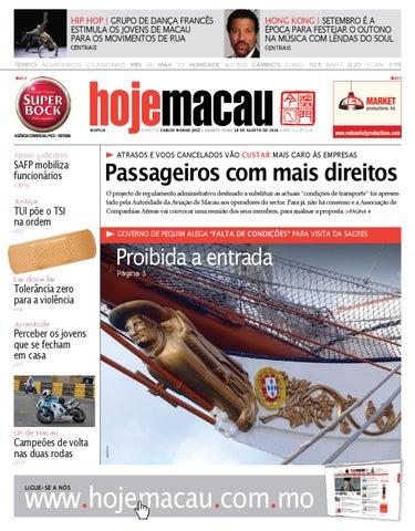 Hoje Macau • 2010.08.18 #2191