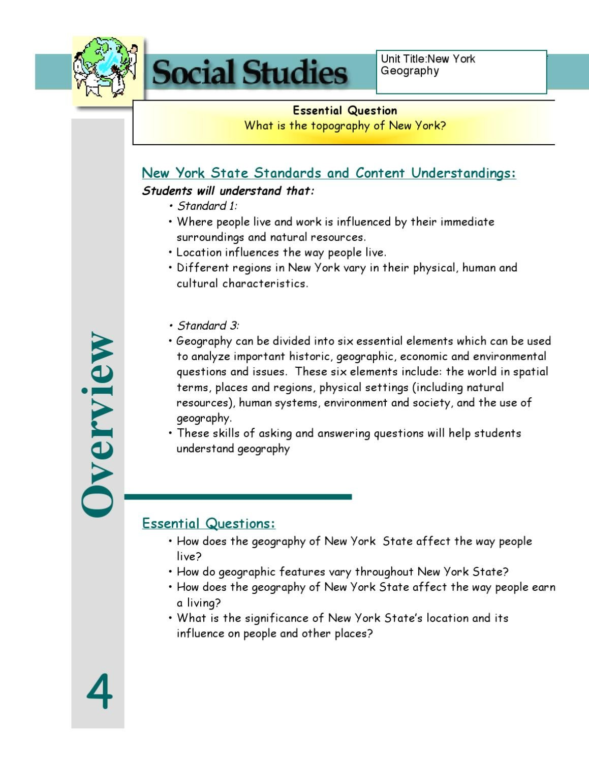 grade 4 curriculum guide by half hollow hills schools