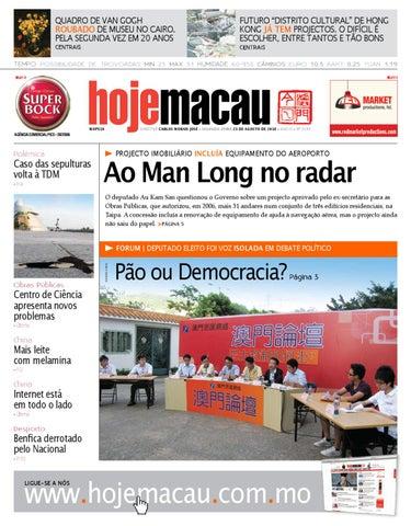 Hoje Macau • 2010.08.23 #2194