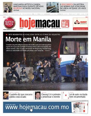 Hoje Macau • 2010.08.24 #2194