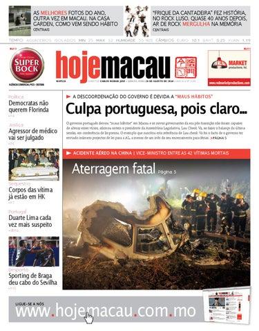 Hoje Macau • 2010.08.26 #2196
