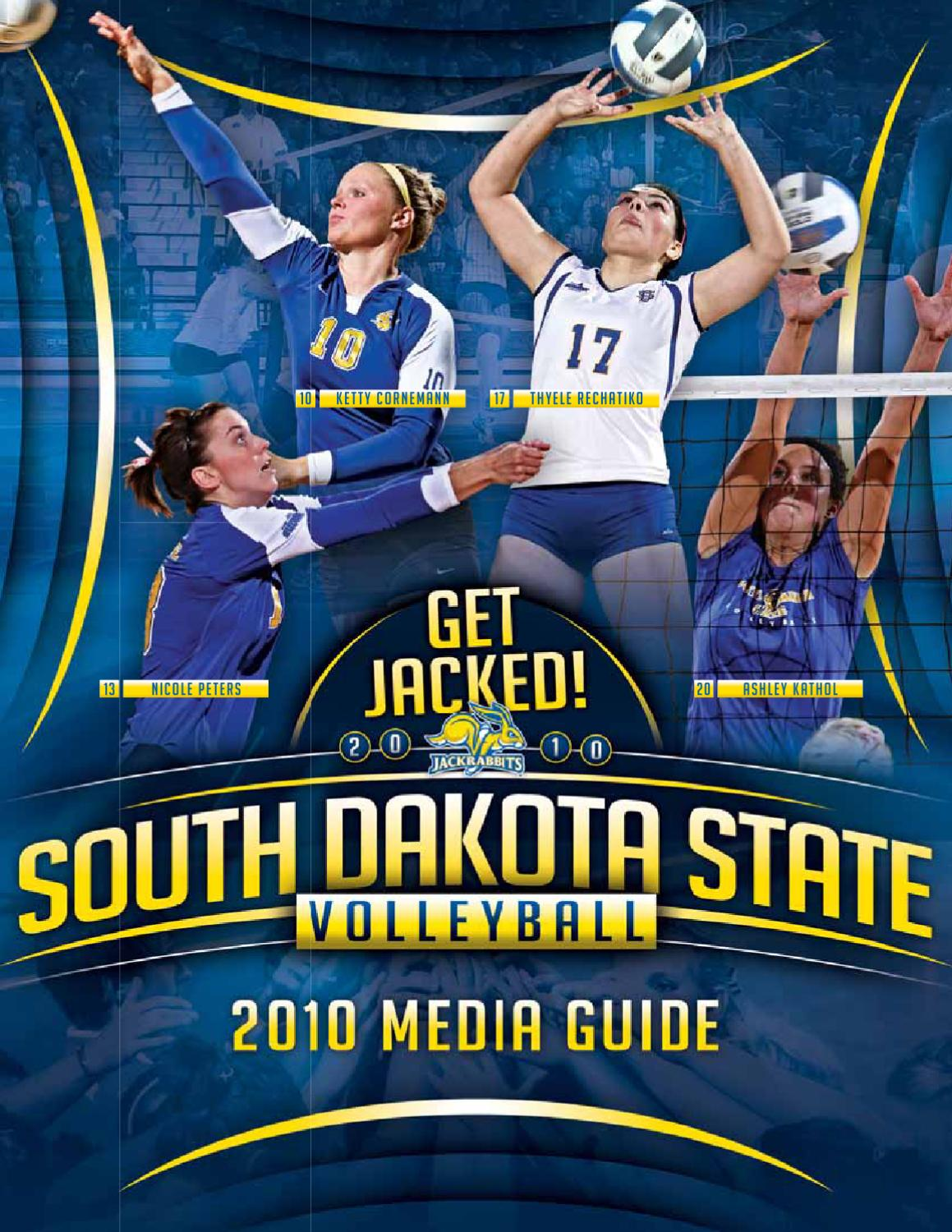ISSUU - 2010 South Dakota State Volleyball Media Guide by ...
