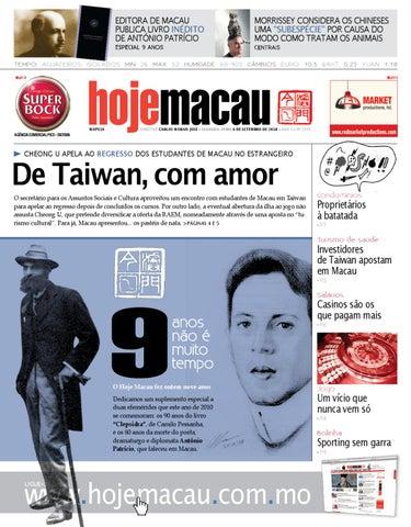 Hoje Macau • 2010.09.06 #2203