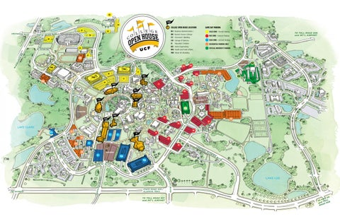 College Open House Map 2010