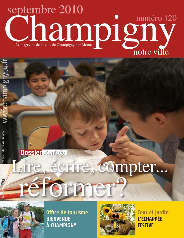 Champigny Notre Ville Septembre