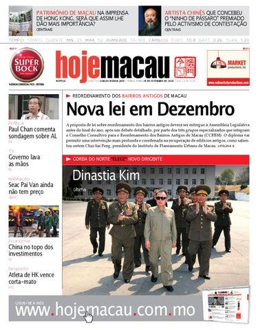 Hoje Macau • 2010.09.28 #2218