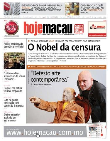 Hoje Macau • 2010.10.11 #2225
