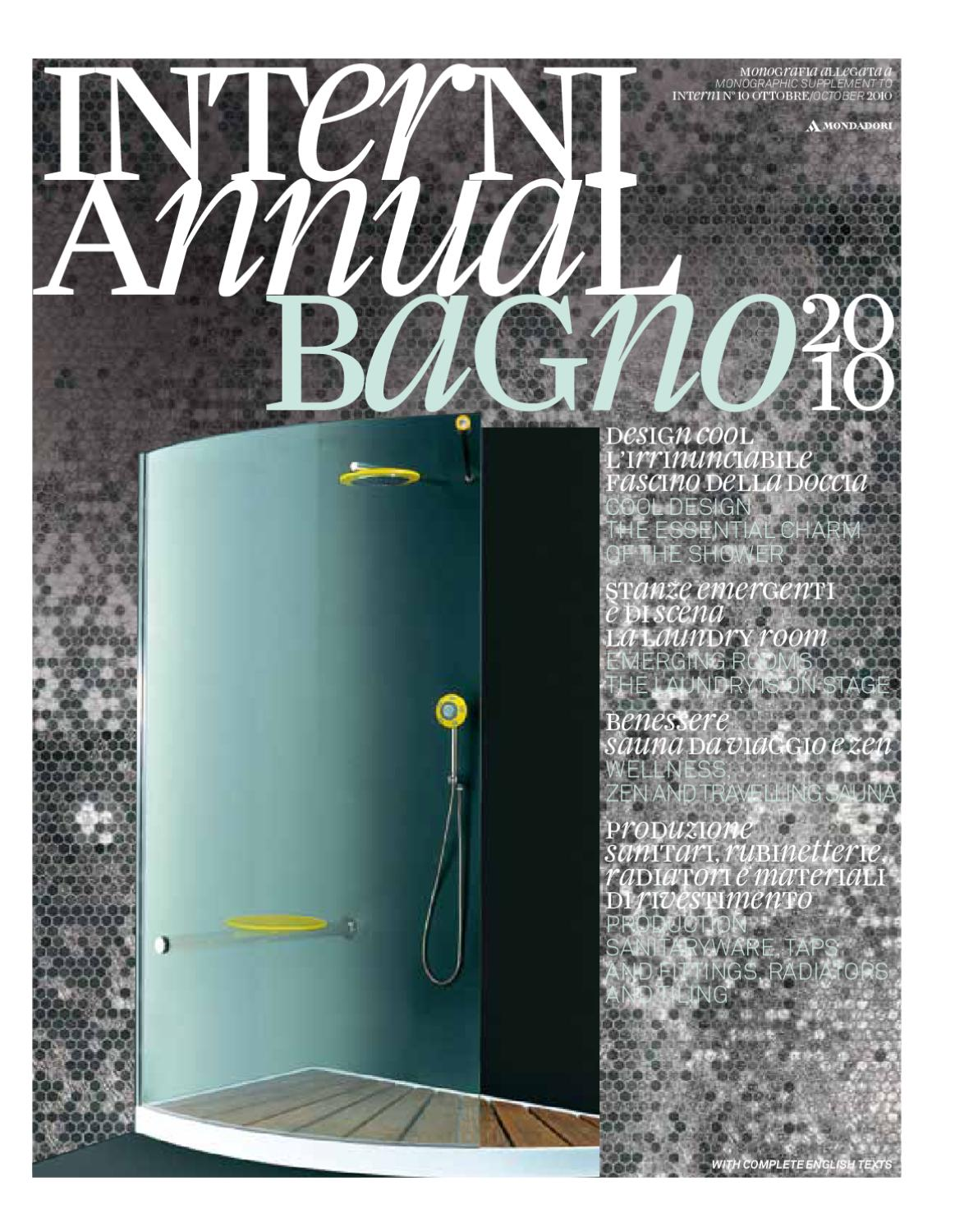 Interni Annual Bagno 2010 by Interni Magazine - issuu
