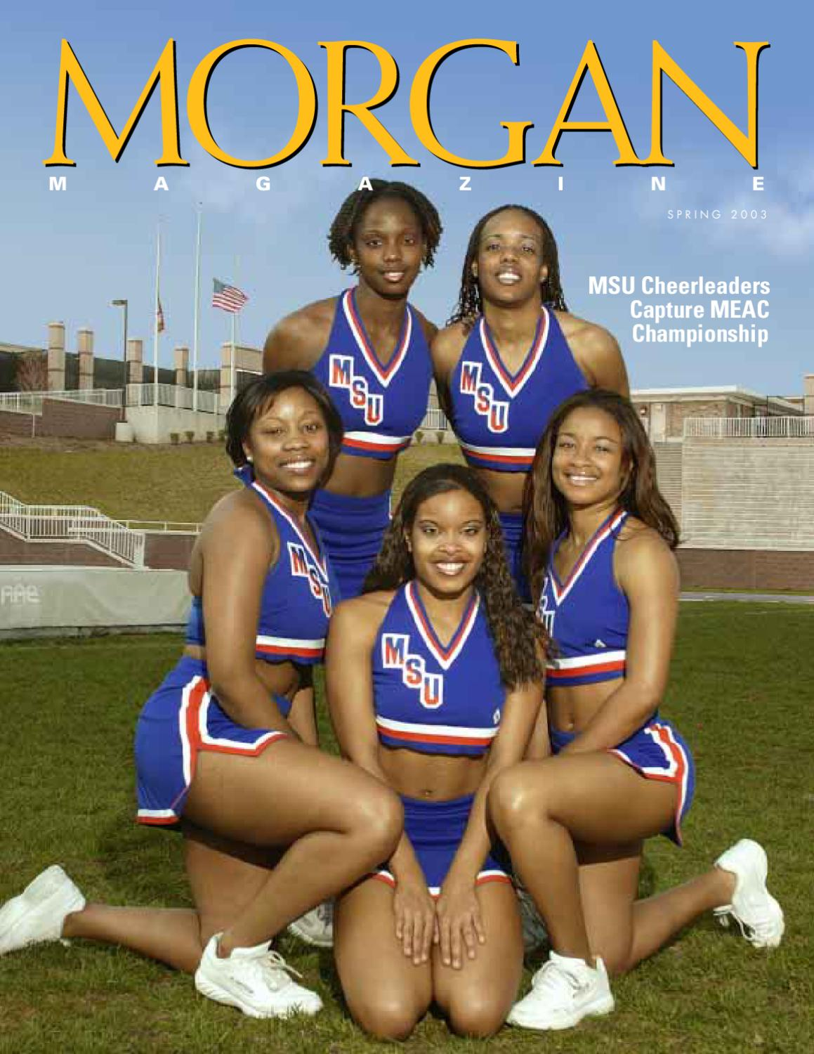 Morgan Magazine Spring 2003 Issue By Morgan State