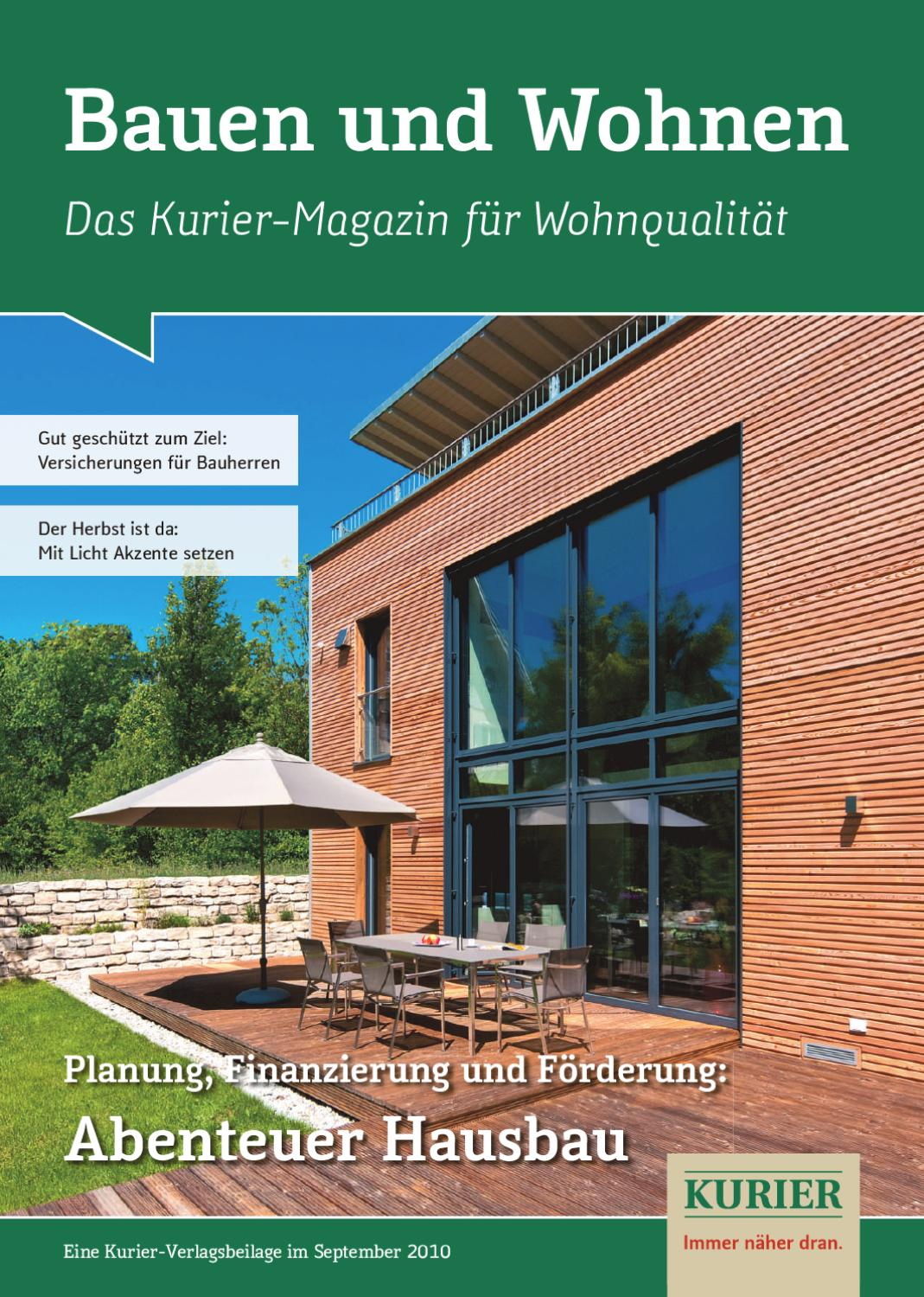 bauen u wohnen by nordbayerischer kurier gmbh co zeitungsverlag kg issuu. Black Bedroom Furniture Sets. Home Design Ideas