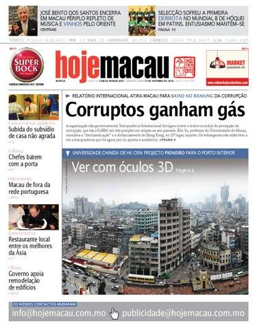 Hoje Macau • 2010.10.27 #2238