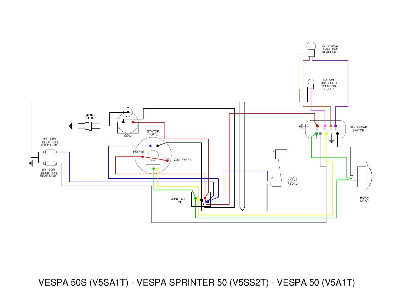 Vespa V5 Wiring Diagrams By Et3px Et3px