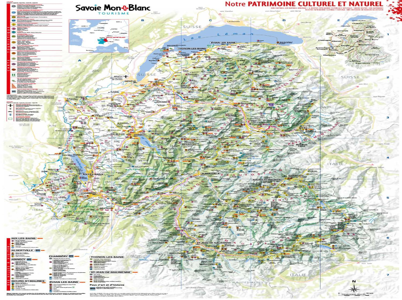 Carte Des Merveilles By Savoie Mont Blanc Tourisme Issuu