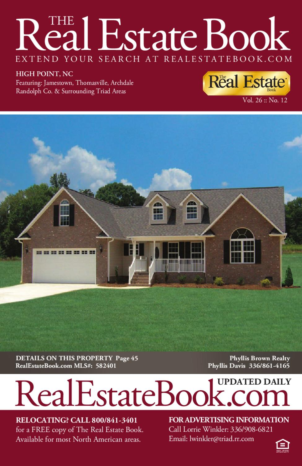 The Real Estate Book of High Point 26 #12 by The Real ...