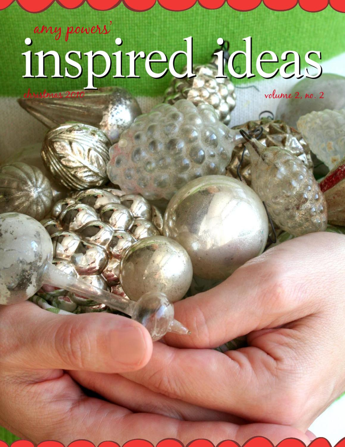 Inspired Ideas The Christmas Issue By Inspire Co Issuu