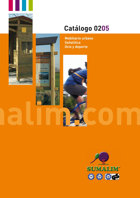 Catalogo Mobiliario Urbano By Sumalim Issuu