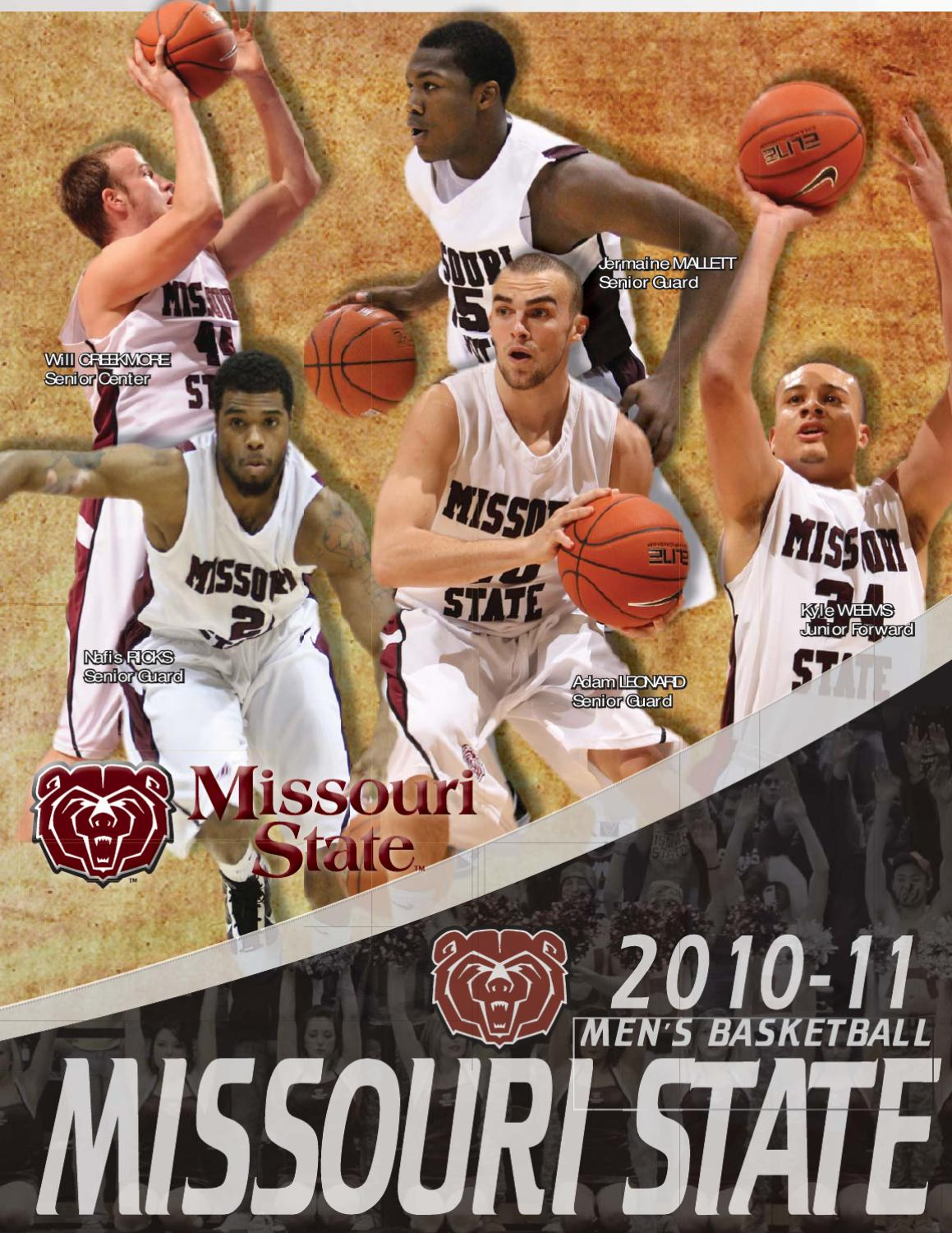 2010 11 Missouri State Men S Basketball Guide By Missouri