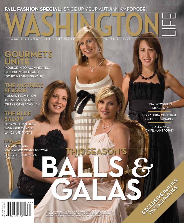 Washington Life Magazine September 2007 By Washington