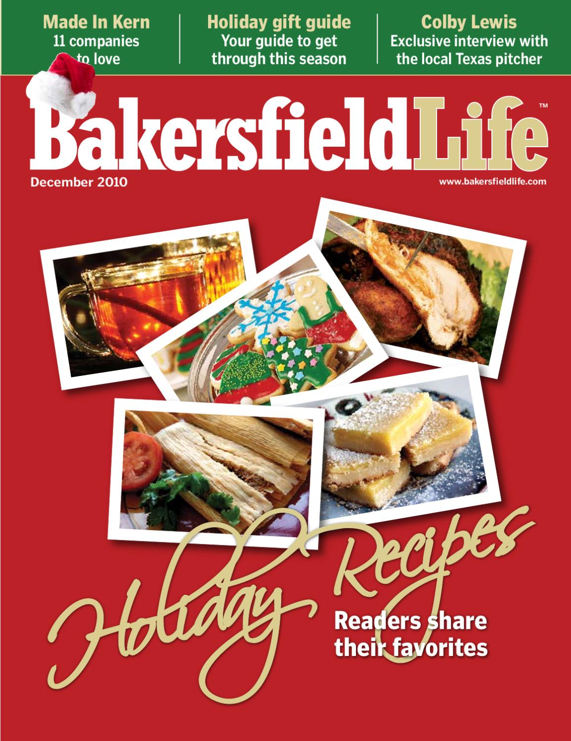 Bakersfield life magazine december 2010 by tbc media for Bakersfield home magazine