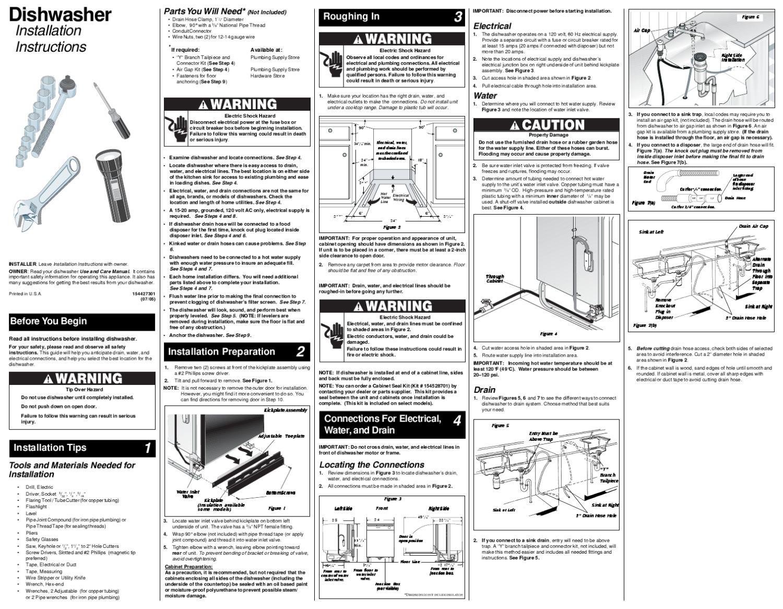 Instrucciones Instalacion Lavavajillas Acero Inoxidable