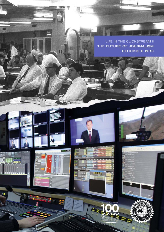 Impact of digital technology on professional journalism?