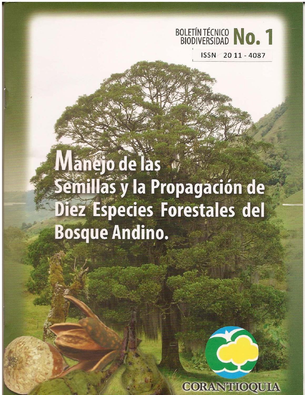 Manejo delas semillas y la propagaci n de diez especies for Manejo de viveros forestales