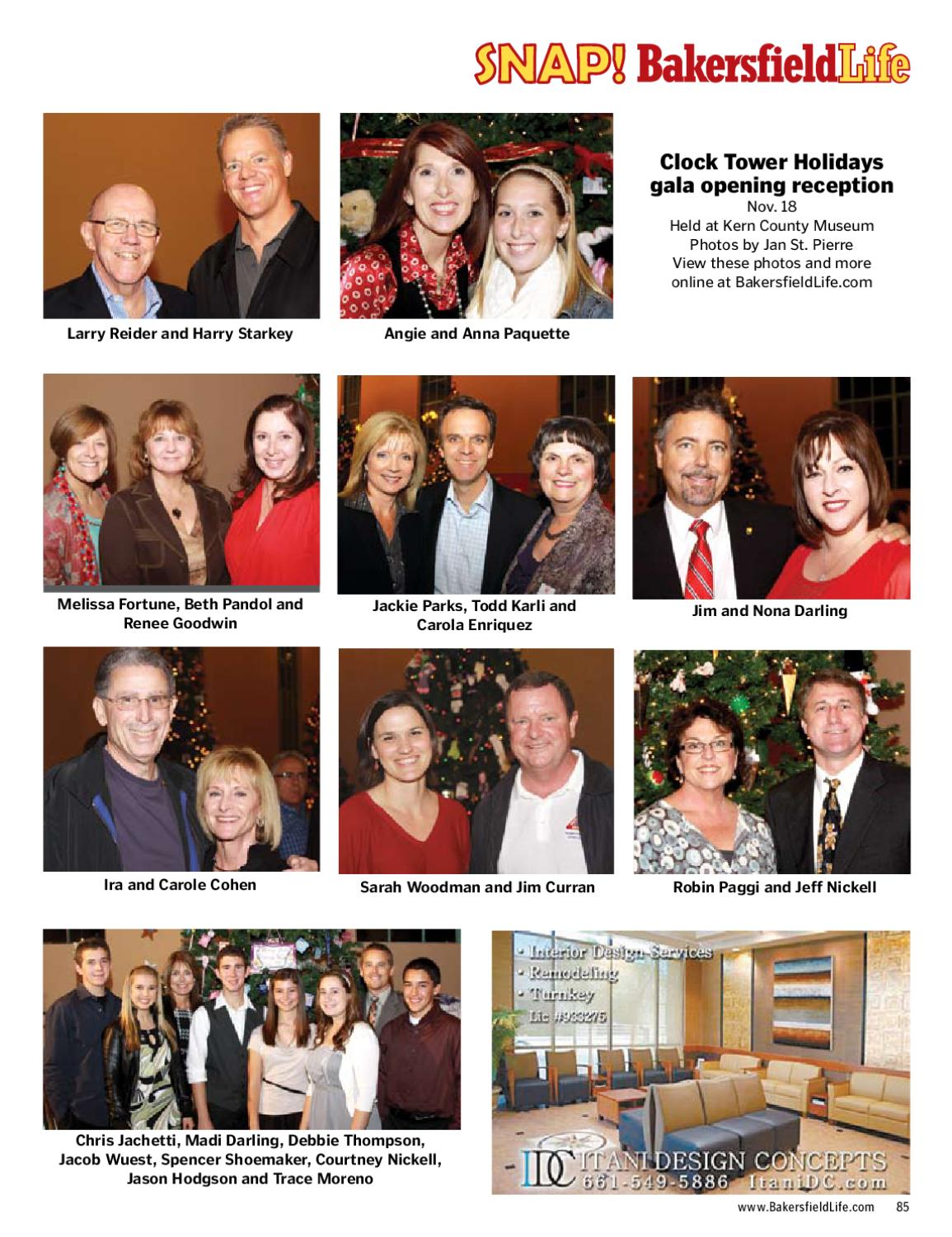 Bakersfield life magazine january 2011 by tbc media for Bakersfield home magazine