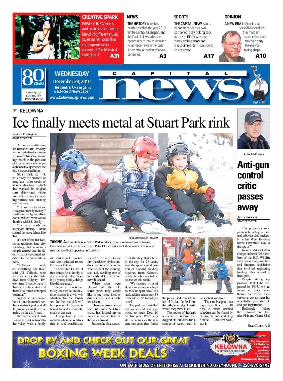 Kelowna Capital News  December          by Black Press   issuu