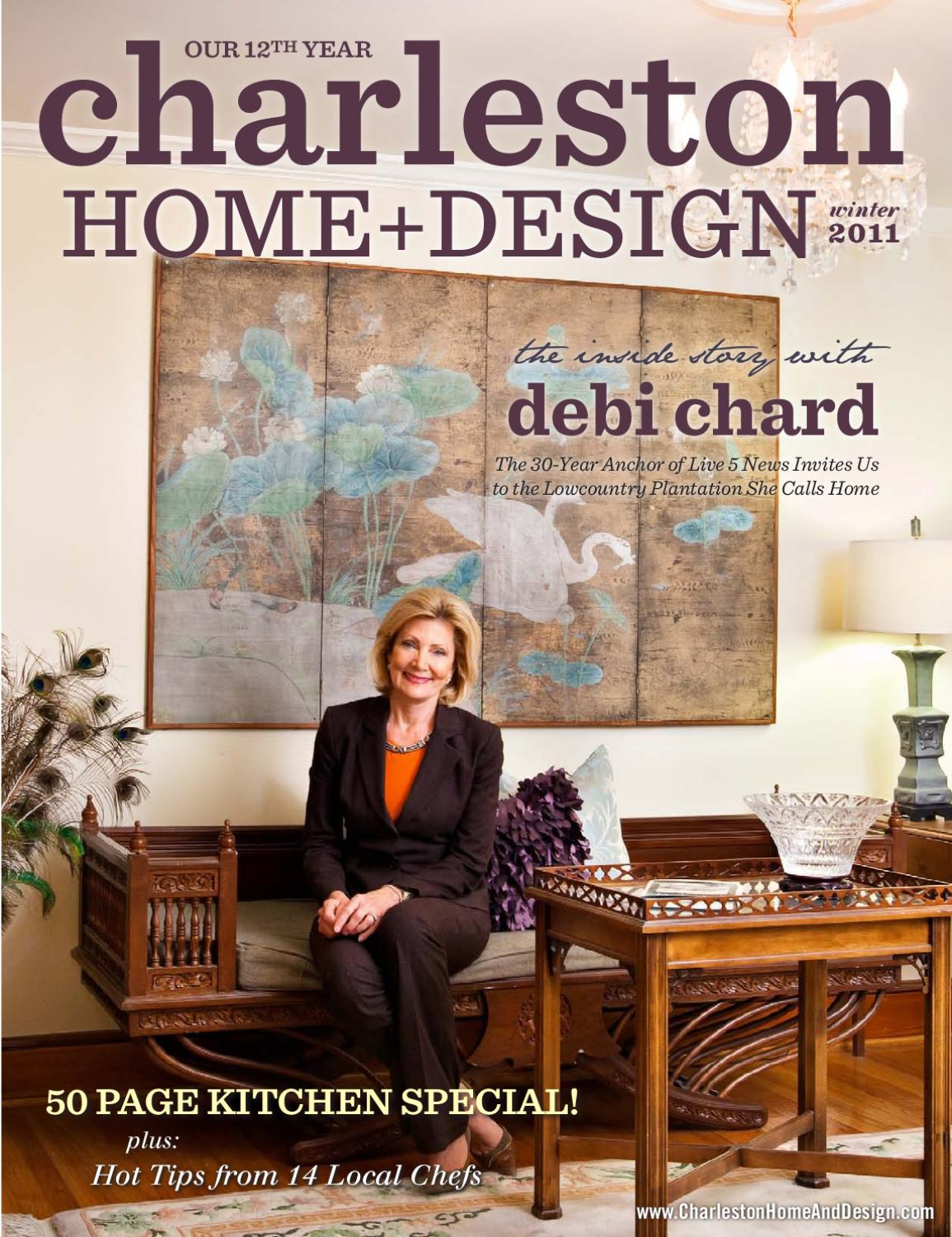 Charleston Home Design Magazine Winter 2011 By
