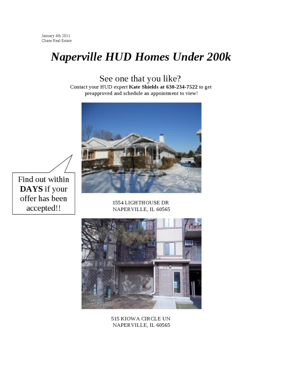Naperville hud homes under 200k by kate shields issuu for Home designs under 200k