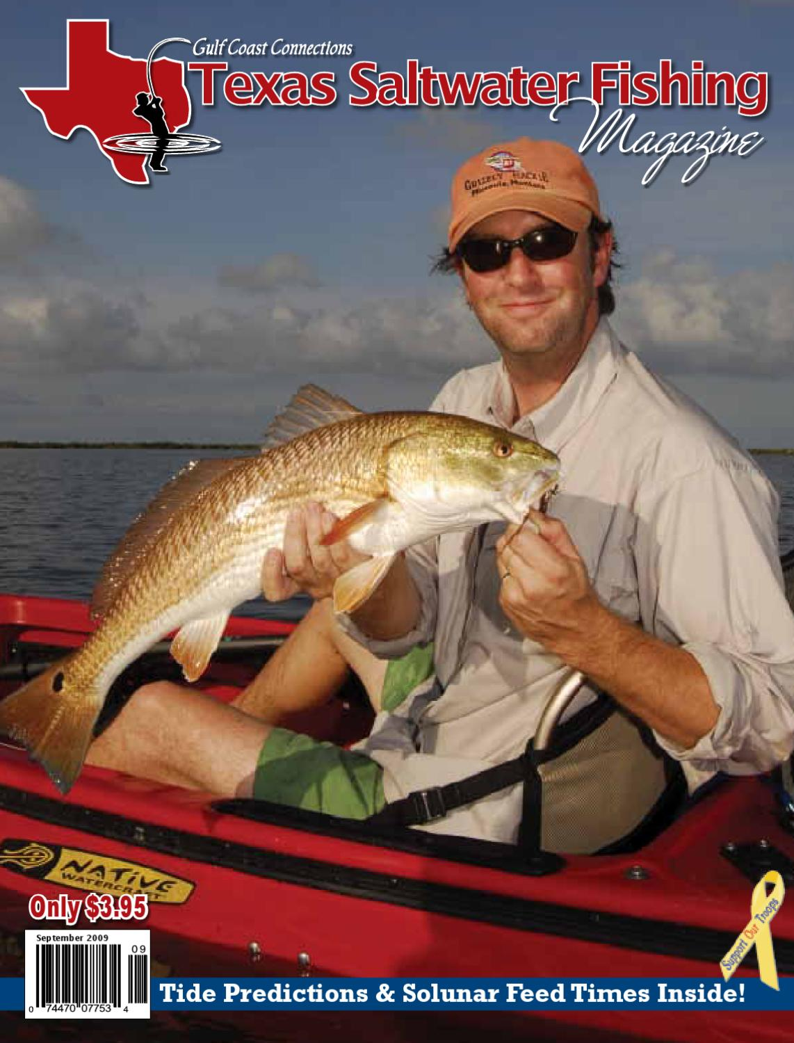 September 2009 by texas salwater fishing magazine issuu for Texas saltwater fishing magazine