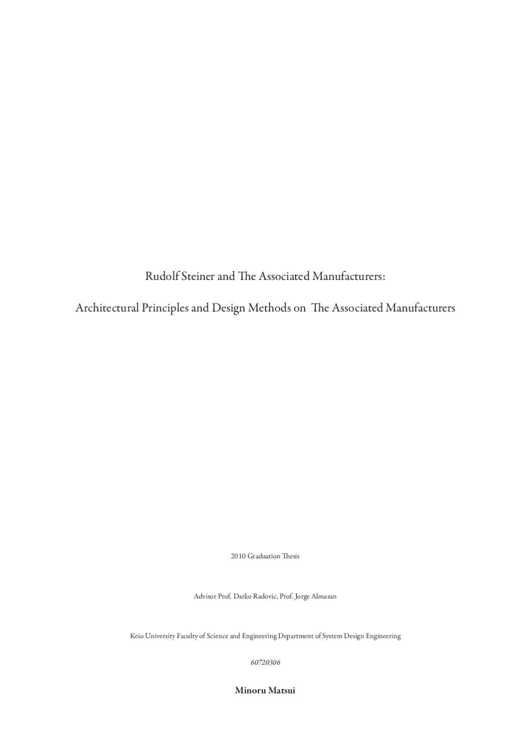 Chapter 2 thesis literature review