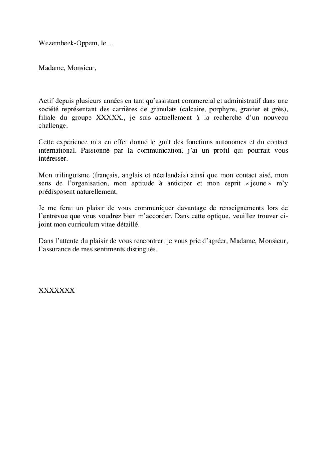 exemple de lettre de motivation  randstad 1  by jobs  u0026 careers cv
