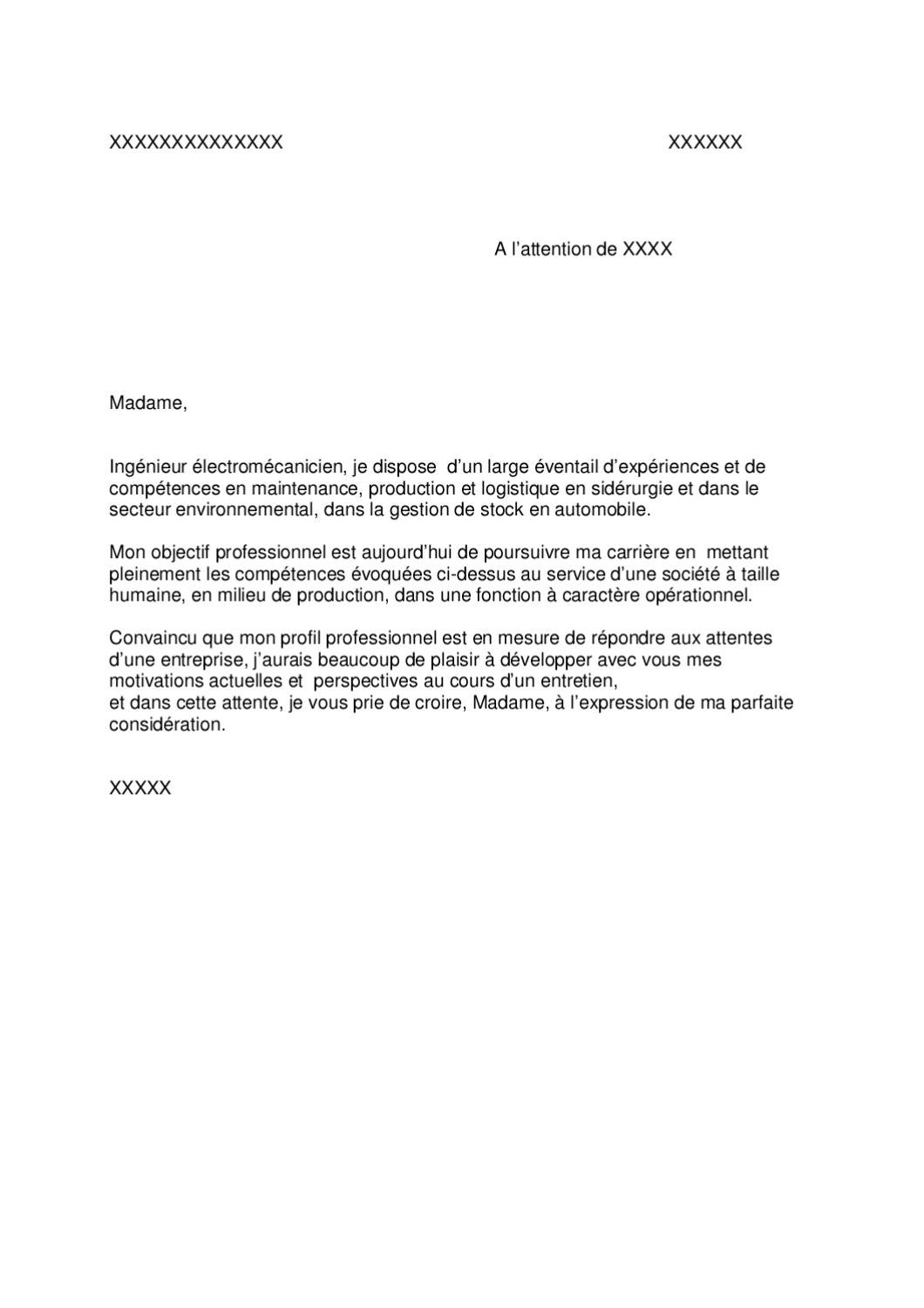 doc  lettre de motivation universelle