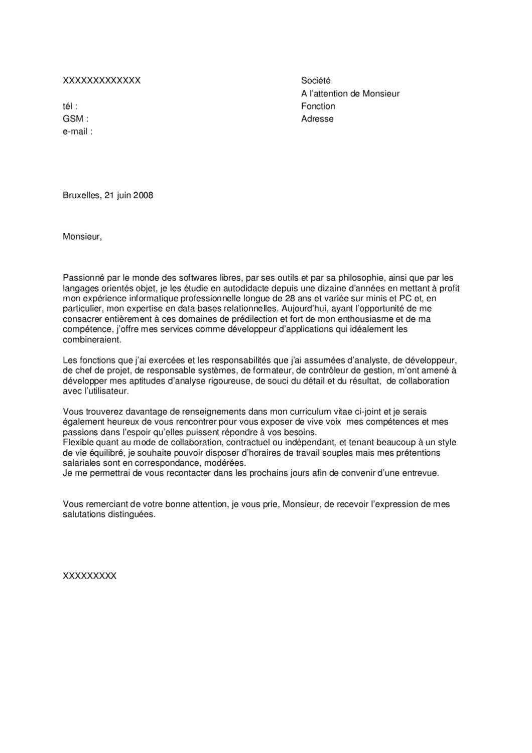 exemple de lettre de motivation  randstad 3  by jobs  u0026 careers cv