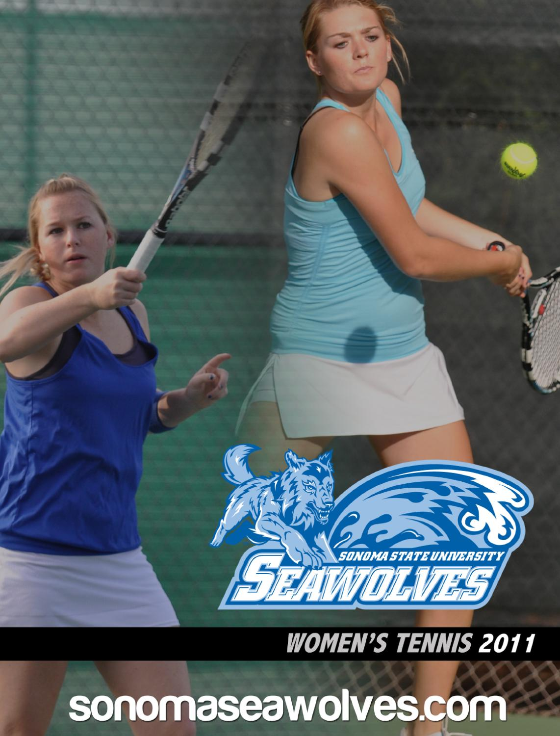 2011 Sonoma State Women's Tennis Media Guide by Brandon ...