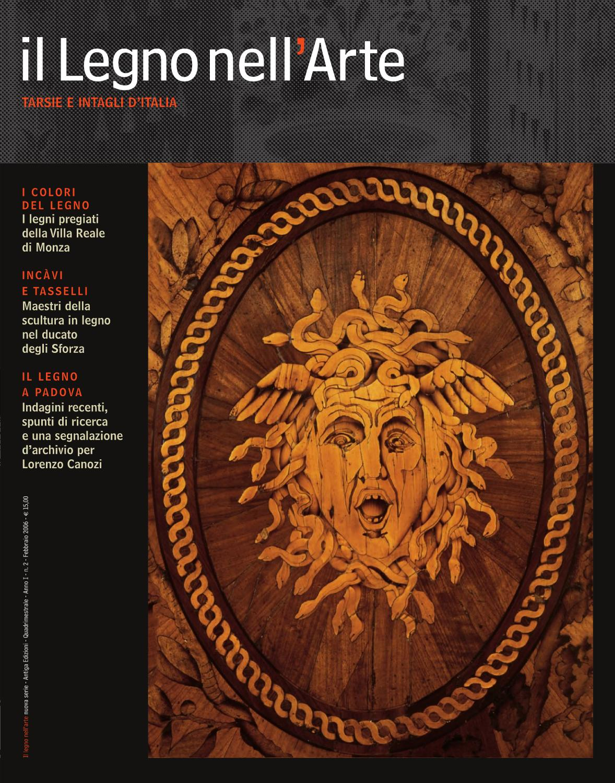 Il legno nell'arte   tarsie e intagli d'italia by ass. culturale ...