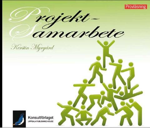 Projektsamarbete   metodbok för effektiva projekt av Kerstin Myrgård - Provläs  boken gratis online! 53408d56deb5f