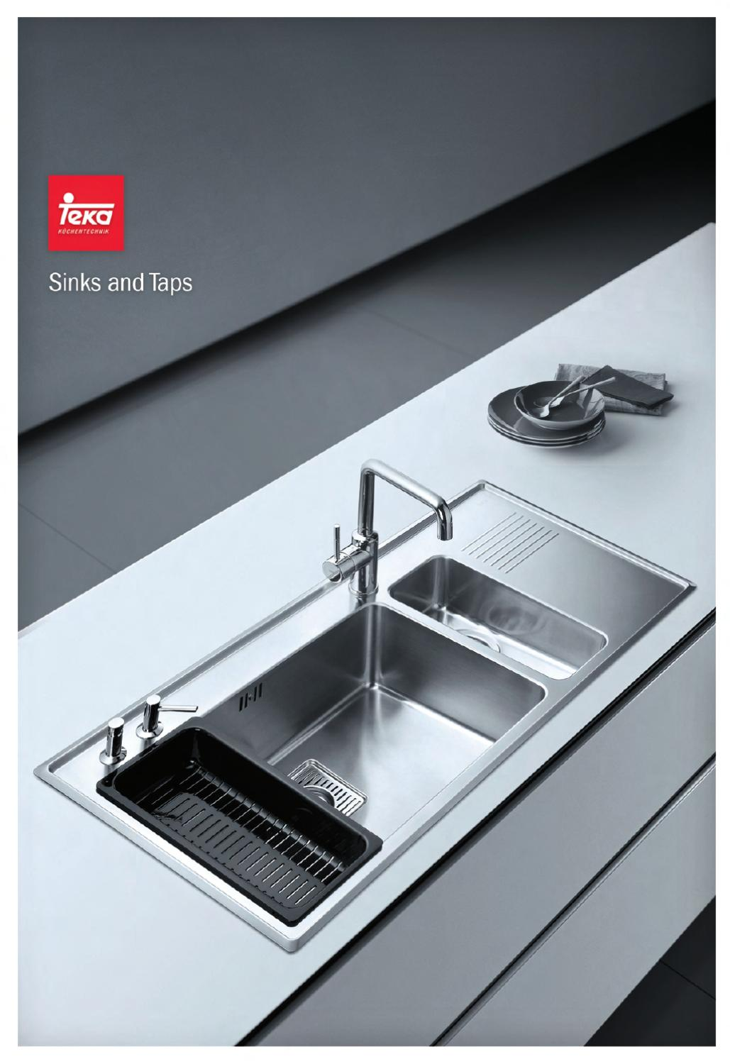 Teka Sink : Teka master sink catalogue by Adolfo ramirez - issuu