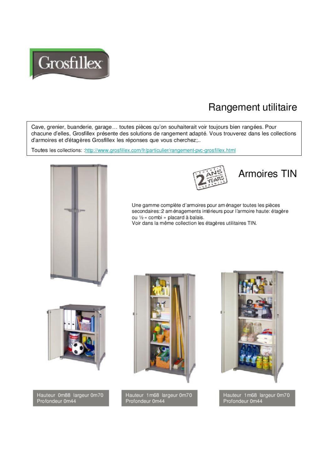 Etagere grosfillex 66055 etagere id es for Armoire grosfillex essential