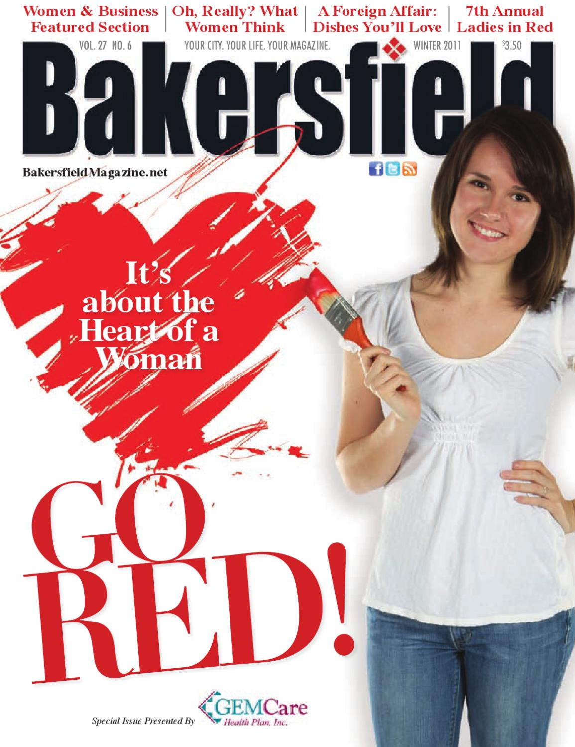 Bakersfield magazine 27 6 go red women business by for Bakersfield home magazine