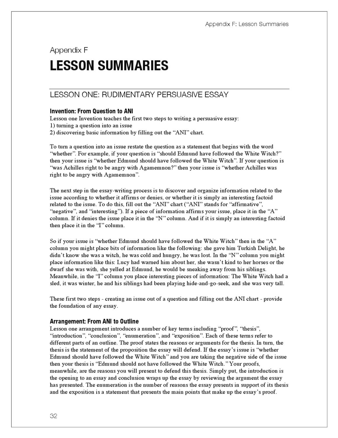 lost tools of writing level demo by circe institute page  lost tools of writing level 1 demo by circe institute page 42 issuu