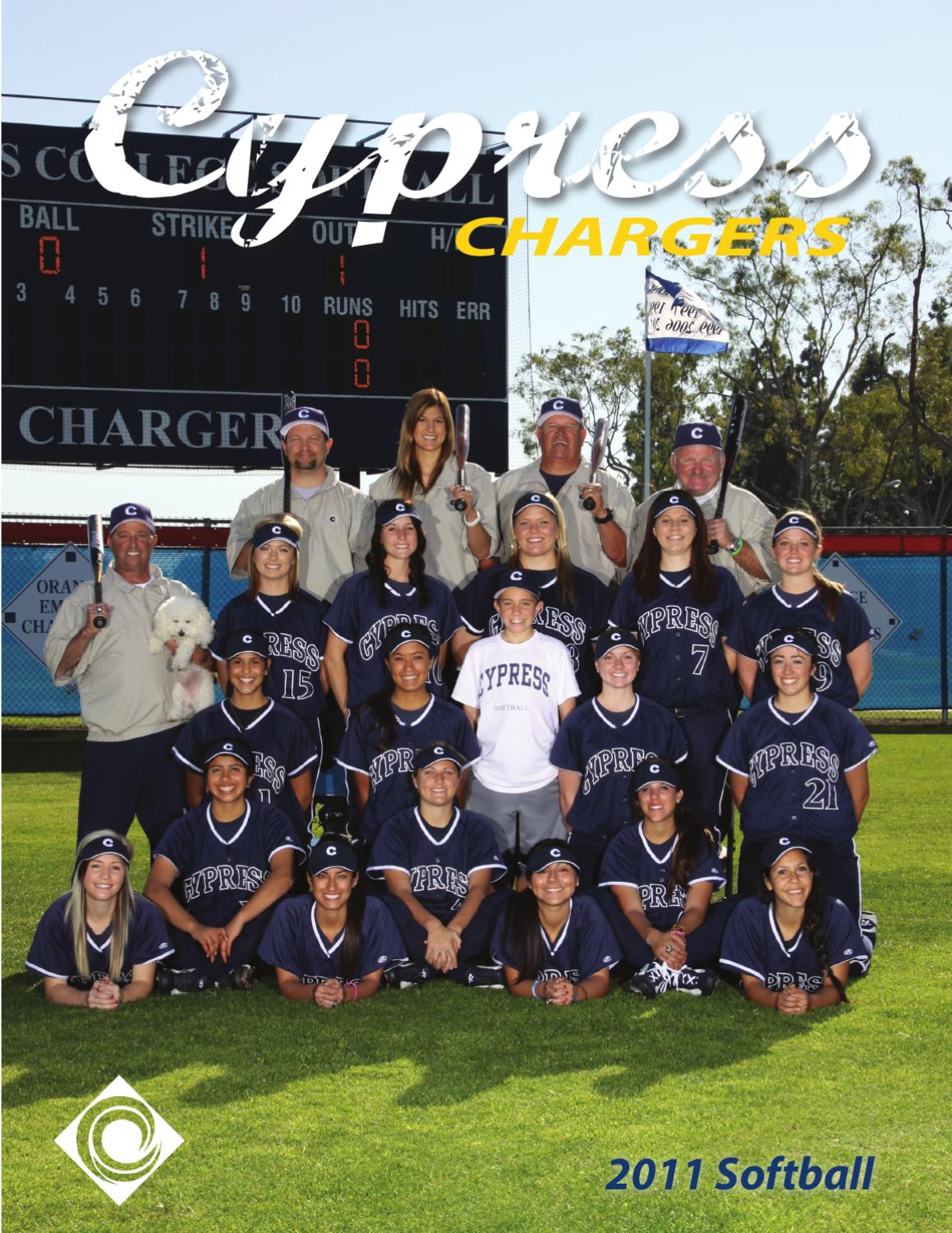 2011 Cypress Chargers Softball Media Guide By Cypress