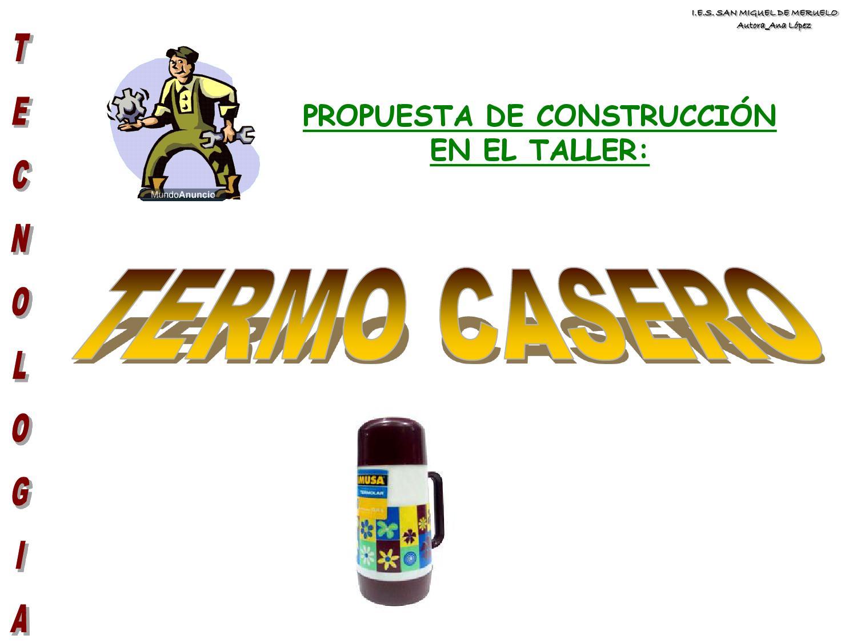 Construir un termo casero by ana isabel issuu for Construccion de viveros caseros