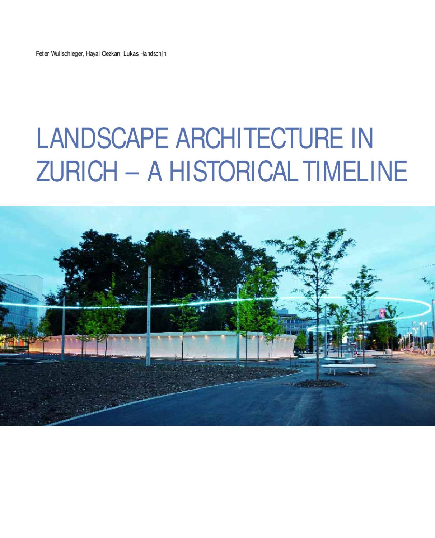 Landscape architects landscape architecture zurich for Female landscape architects